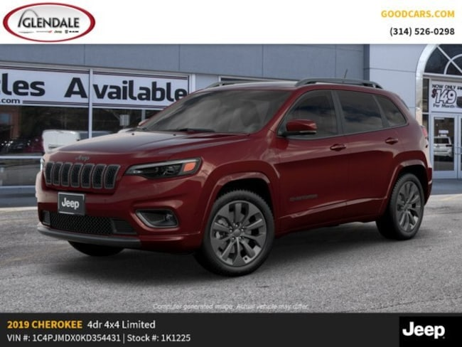New 2019 Jeep Cherokee HIGH ALTITUDE 4X4 Sport Utility in St. Louis