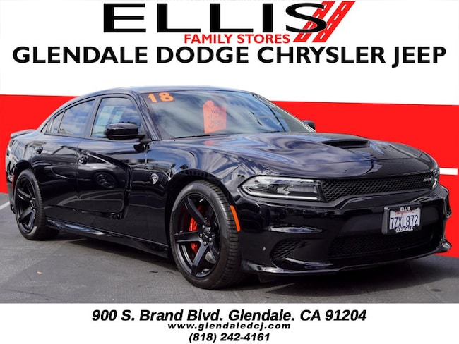 Used 2018 Dodge Charger Srt Hellcat For Sale In Glendale