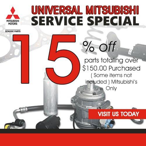 Auto Repair Specials Service Coupons At Universal Mitsubishi - Mitsubishi auto service