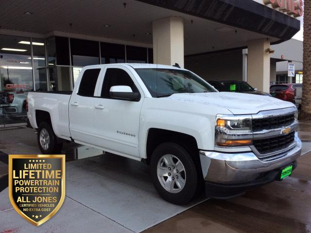 2018 Chevrolet Silverado 1500 2WD Double Cab 143.5 LT w/1LT Extended Cab Pickup
