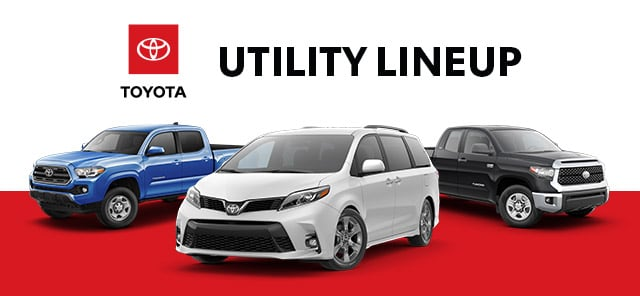 toyota utility lineup