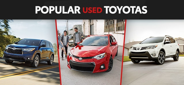 Popular Used Toyota Models