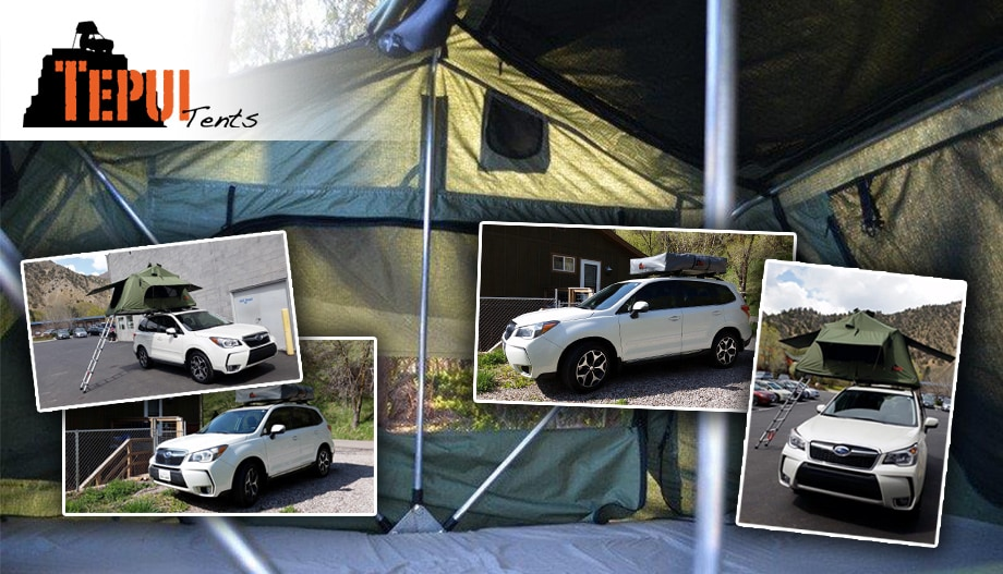 Tepui Tents photo collage