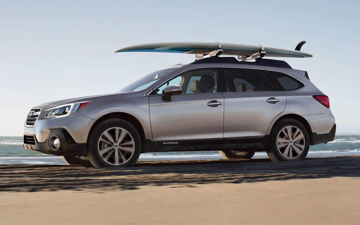 2018 Subaru Outback Vs 2017 Honda Cr V