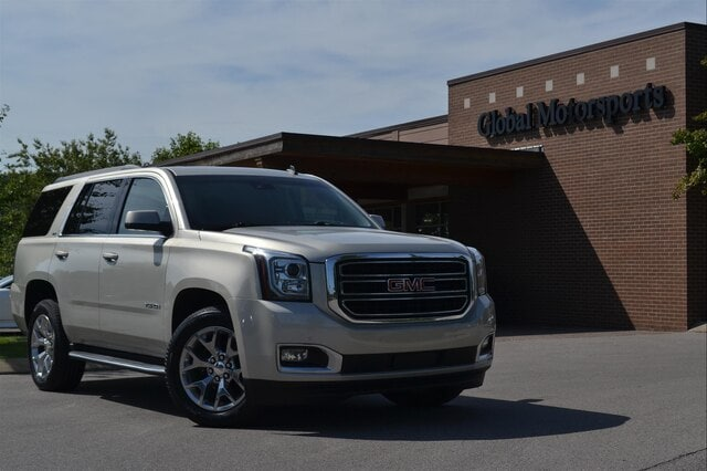 2015 GMC Yukon SLT/Rear DVD/2nd Row Buckets/Navigation/4X4/Blind Spot/Bose/Heated-Cooled Seats SUV