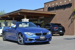 2016 BMW 435i M Sport Package/Track Handling Package/Cold Weather Package/Tech Package/Lighting Package/Heated Seats Convertible