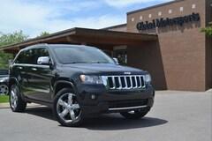 2012 Jeep Grand Cherokee Overland/Heated-Ventilated Front Seats/Heated Wood & Leather Steering Wheel/Navigation/Rear Camera/5.7 Hemi Engine/Saddle & Black Interior SUV