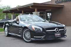 2016 Mercedes-Benz SL-Class Wood & Leather Steering Wheel/Active Multi-Contour Roadster