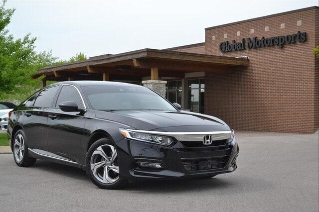 2018 Honda Accord /EX-L/Blind Spot w/Rear Cross Traffic Alert/Heated Seats/Rear Camera Sedan