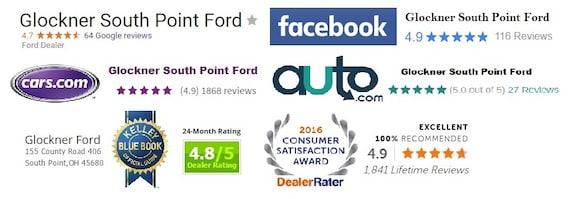 Glockner South Point Ford >> Ford Dealer Serving Huntington Wv Glockner Ford