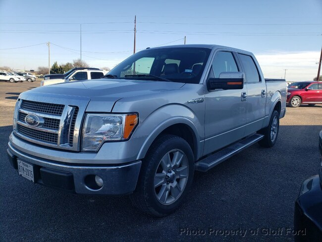 2011 Ford F-150 2WD SuperCrew 157 Lariat Crew Cab Short Bed Truck