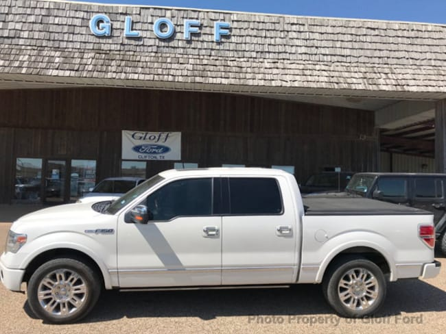 2013 Ford F-150 2WD SuperCrew 145 Platinum Crew Cab Short Bed Truck