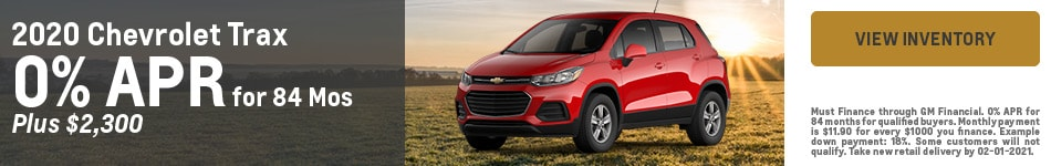 2020 Chevrolet Trax - Customer Cash