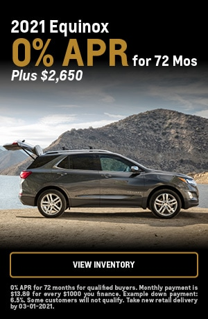 2021 Chevrolet Equinox - 0% APR