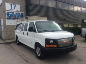 2015 GMC Savana 3500 Extended 15 Passenger Van Diesel