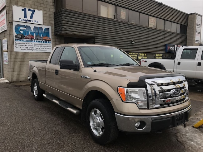 2012 Ford F-150 XLT Extended Cab Short Box 4X4 Gas Truck Extended Cab