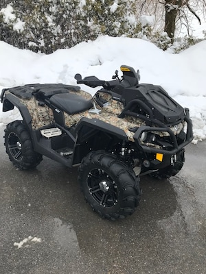 2014 CAN-AM Outlander 1000 X MR