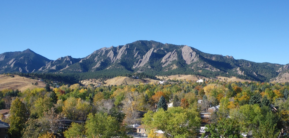 View of Boulder, Colorado