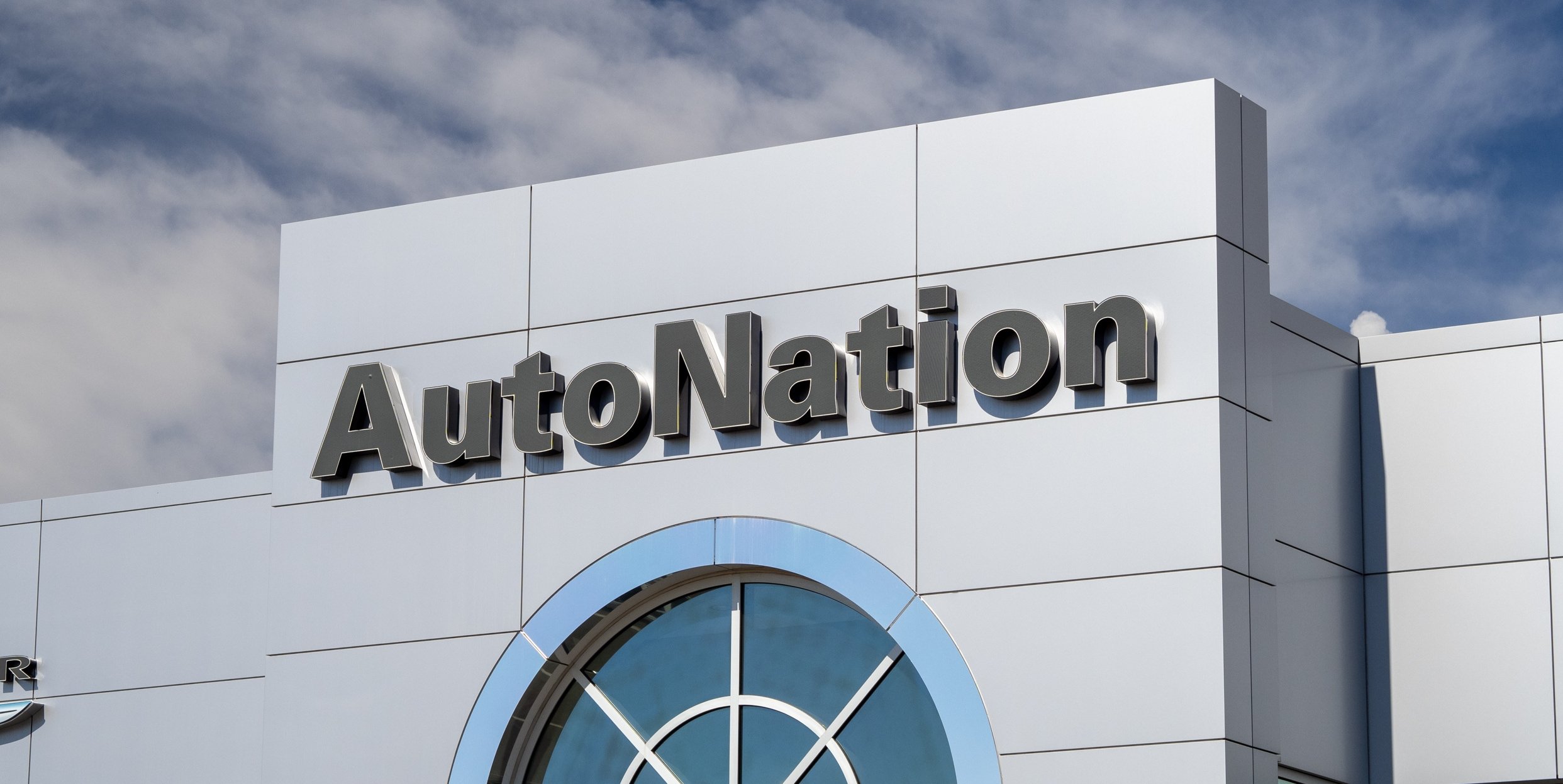 Exterior view of Autonation Chrysler Jeep Broadway