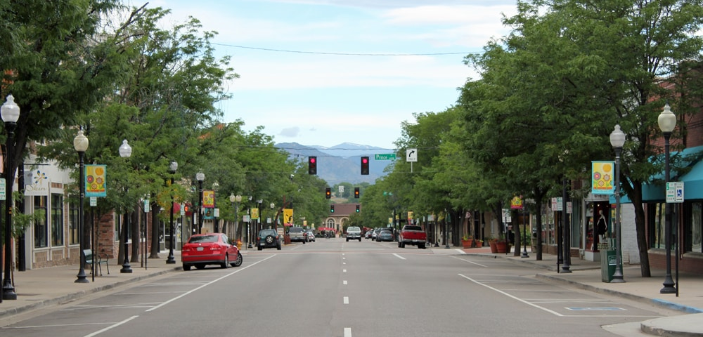 View of Littleton, Colorado