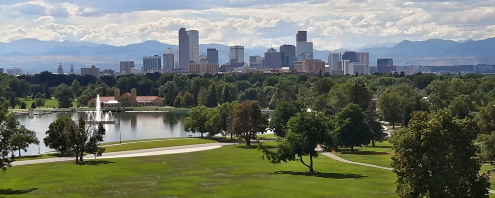 View of Denver, CO
