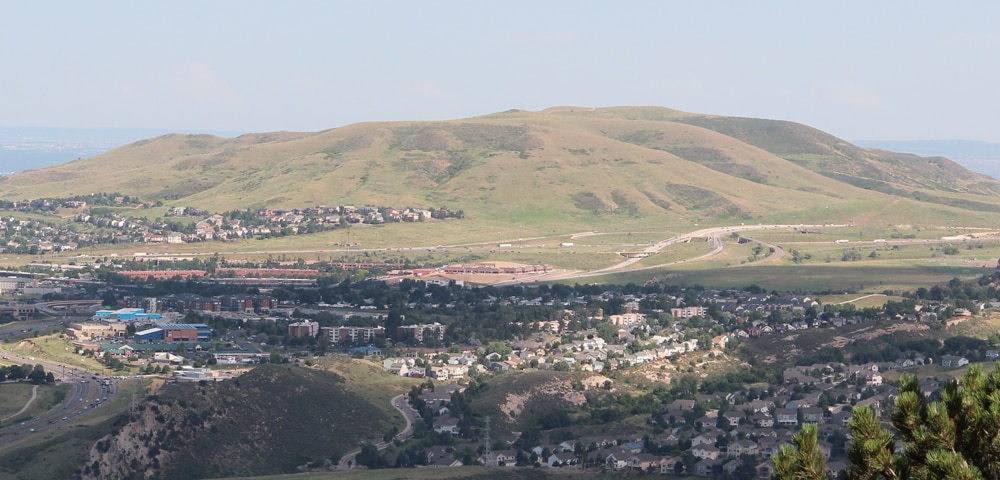 View of Lakewood, Colorado