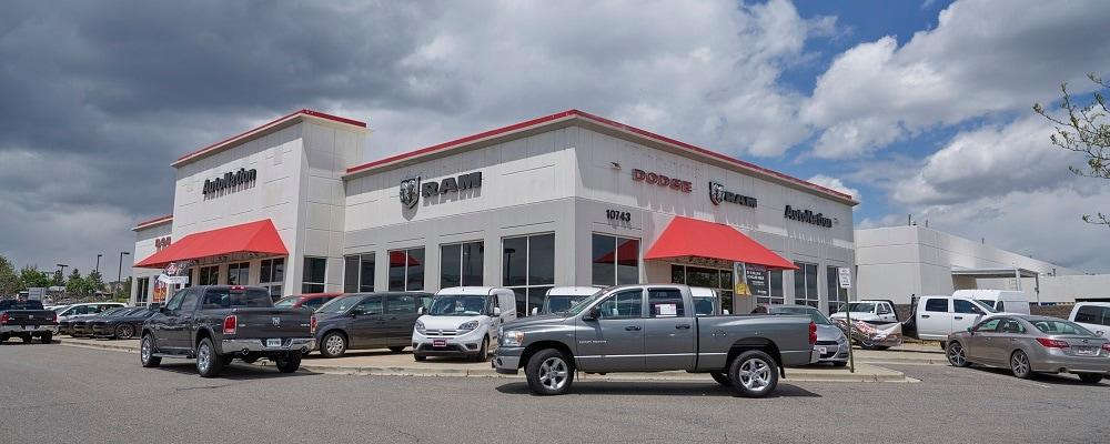 Autonation Dodge Ram Dealership In Centennial Co Autonation Dodge