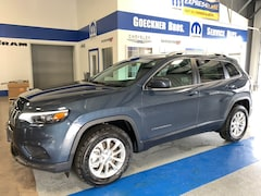 New 2019 Jeep Cherokee LATITUDE 4X4 Sport Utility for sale in Effingham, IL at Goeckner Bros., Inc.