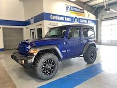New 2019 Jeep Wrangler SPORT S 4X4 Sport Utility for sale in Effingham, IL at Goeckner Bros., Inc.
