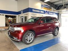 New 2019 Dodge Durango SXT PLUS AWD Sport Utility for sale in Effingham, IL at Goeckner Bros., Inc.