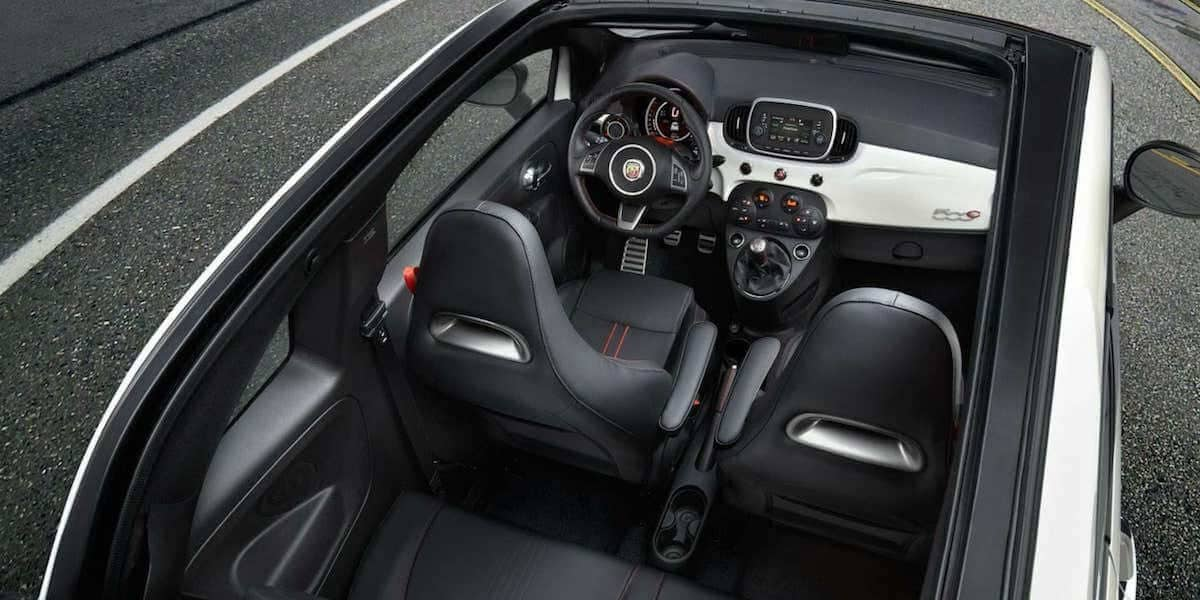 2019 FIAT 500 Abarth interior