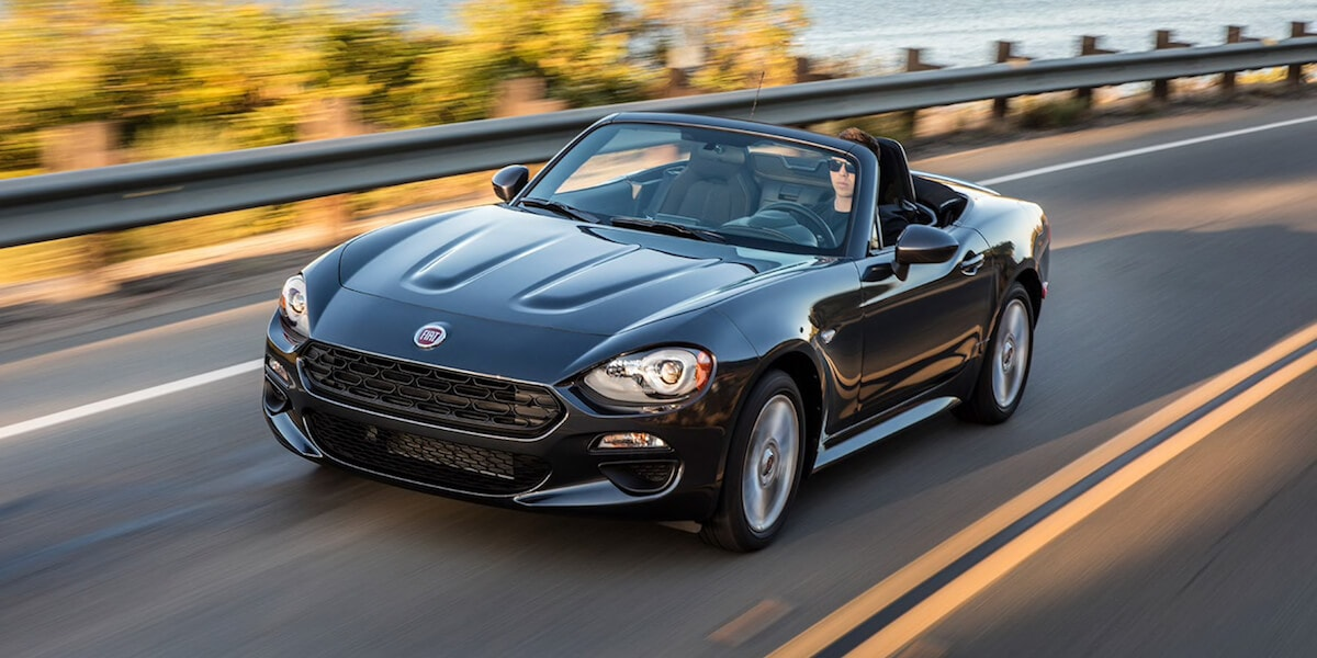 2019 FIAT 124 Spider in dark grey