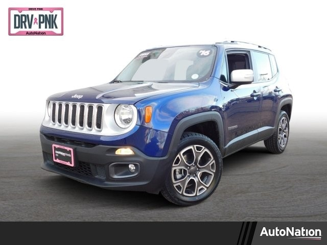 2016 Jeep Renegade Limited 4WD 4dr Limited