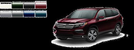 2016 Honda Pilot Color Options   AutoNation Honda East Las ...