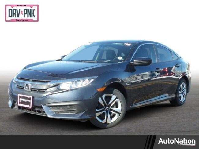 2016 Honda Civic LX 4dr CVT LX