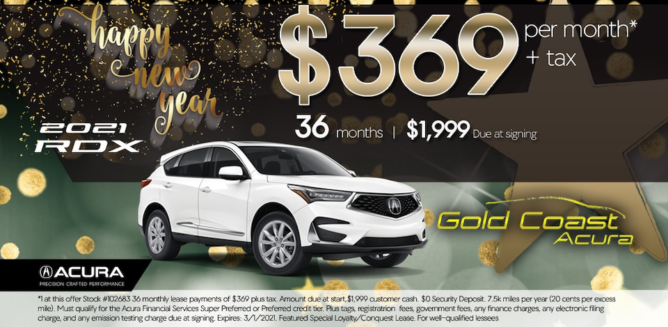 2021 Acura RDX - Base - January 2021 - New Years