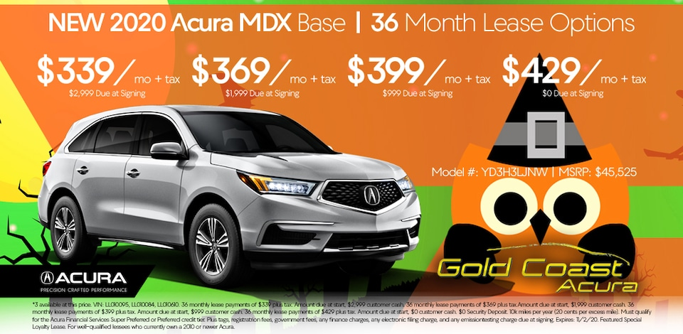 2020 Acura MDX - Base - Halloween October 2020