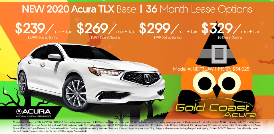 2020 Acura TLX - Base - Halloween October 2020