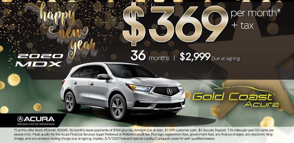 2020 Acura MDX - Base - January 2021 - New Years
