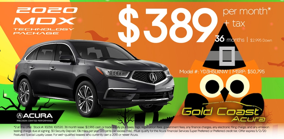 2020 Acura MDX - Technology Package - Halloween October 2020