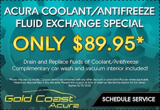 Coolant / Antifreeze Fluid Exchange - October