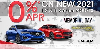 0% Financing - 21 ILX / 21 TLX - May 2021