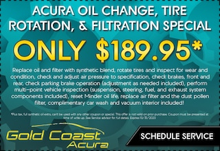 Oil Change, Tire Rotation, & Filtration Special