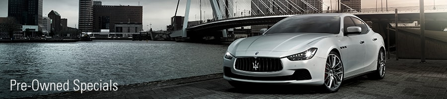 Maserati pre-Owned-Specials
