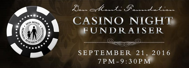 Don Monti Foundation Casino Night Fundraiser