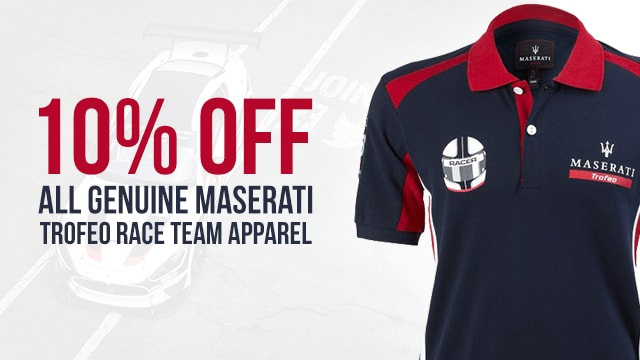 Genuine Maserati Trofeo Apparel