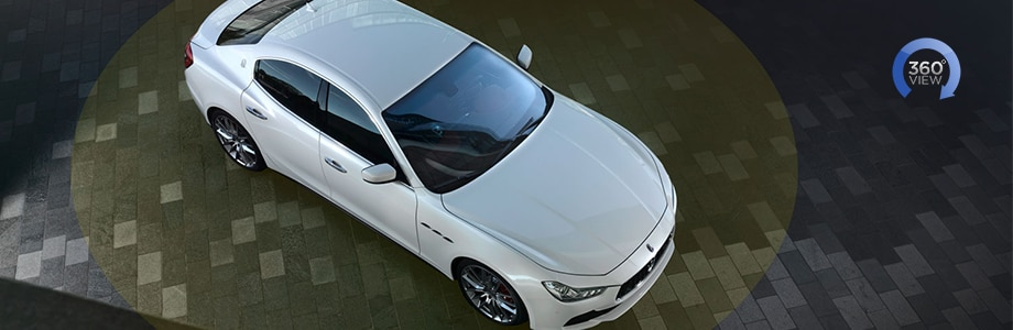 Maserati Ghibli Surround View Camera