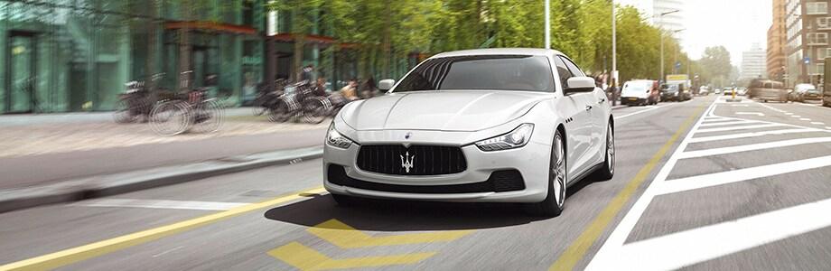 Maserati Ghibli Lane Departure Warning