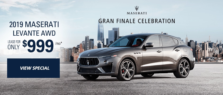 Attractive Maserati Lease Offers On A New Maserati In Ny
