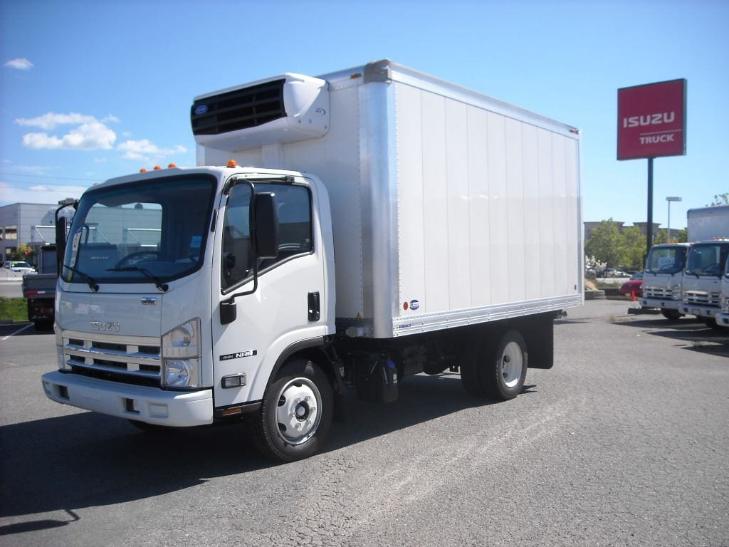 New 2018 Isuzu Nrr 19 500 Gvw 14ft Carrier 50x Reefer For